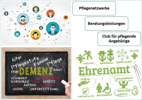 Pflegenetzwerke.de - Vorteile und Leistungen für die Pflege und pflegende Anghörige